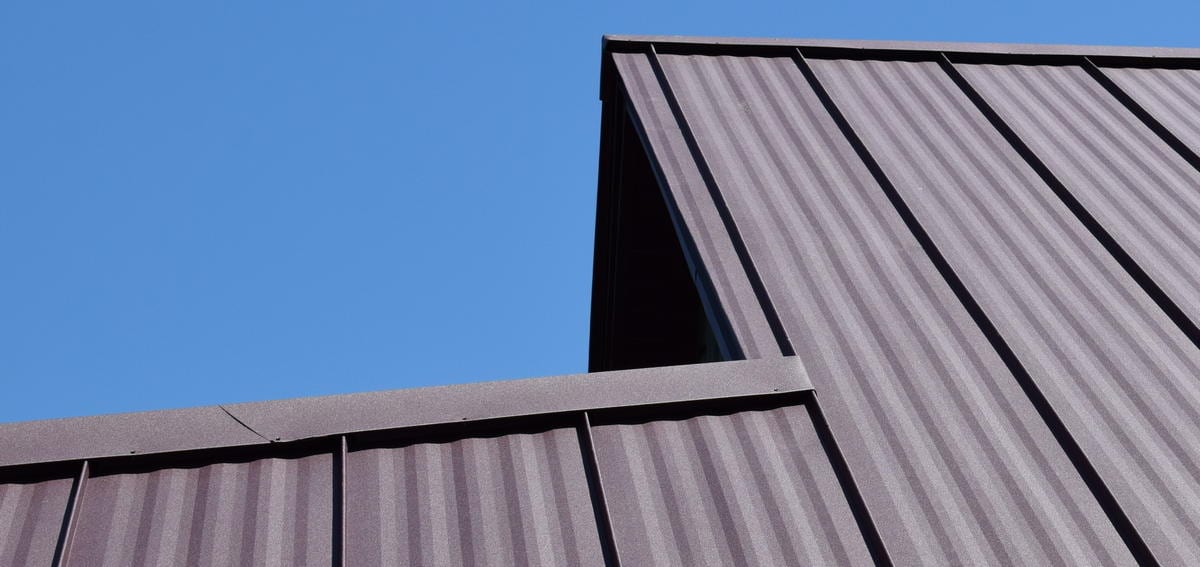 Standing Seam Roofing - Weather XL Crinkle Finish