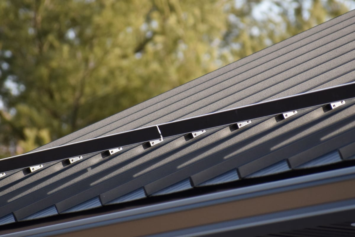 Weather XL Crinkle Finish - Standing Seam Metal Roofing