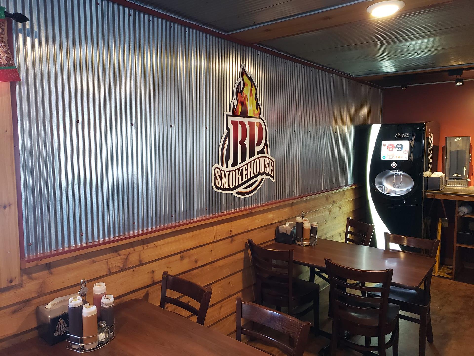 BP Smokehouse Interior