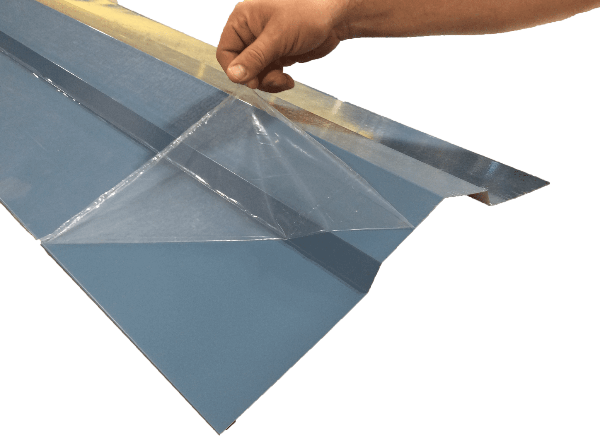 Protective film for trim - All American Steel
